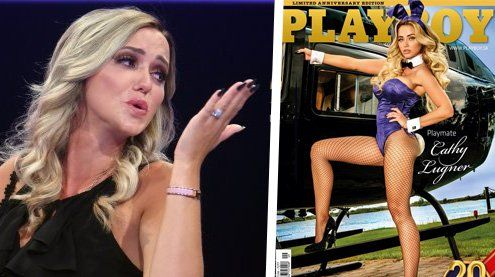 "Cathy Lugner im Playboy: So freizügig zeigt sich ""Mörtels"" Ex"