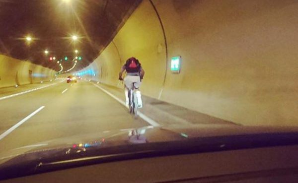 Vorarlberg: Amerikaner verirrt sich in Achraintunnel