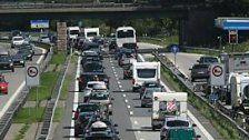 Transportaufkommen in Österreich stieg 2016