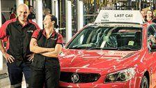 Das letzte in Australien produzierte Auto