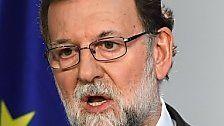 Regierungsübernahme: Rajoy will Maßnahmen
