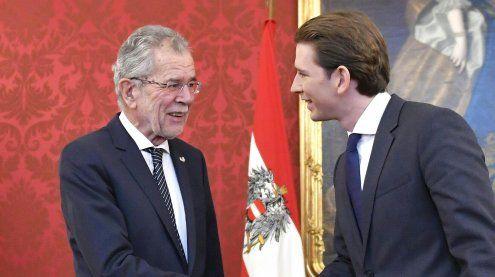 Treffen mit Van der Bellen: Kurz will Regierung bis Weihnachten