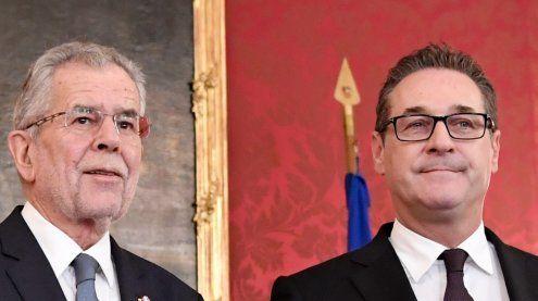 NR-Wahl: So lief das Gespräch zwischen HC Strache und VdB