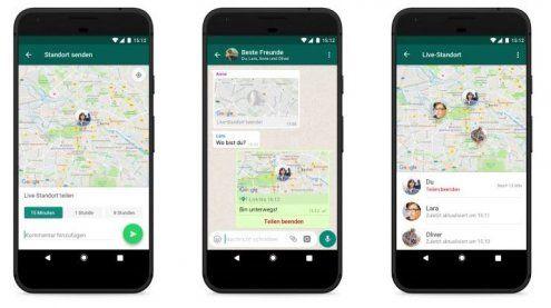 Diese neue WhatsApp-Funktion gibt deinen Live-Standort wider